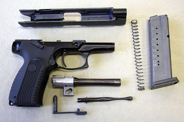 Состав пистолета