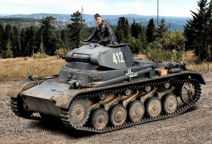 Танк Panzerkampfwagen II