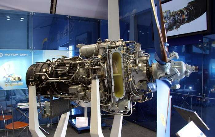Турбовинтовой двигатель