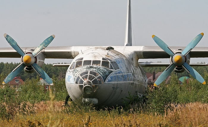 В авиационном музее