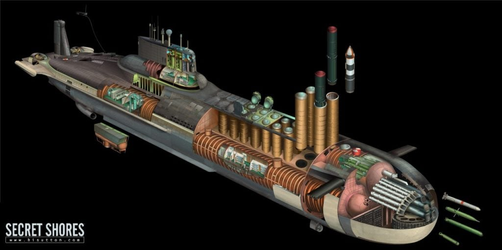 устройство атомного крейсера