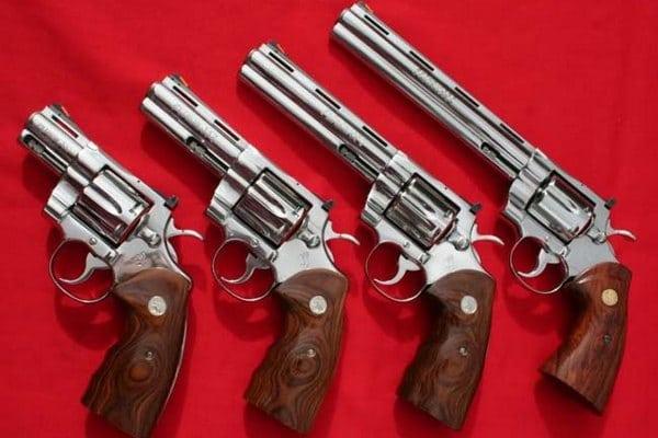 модели револьвера