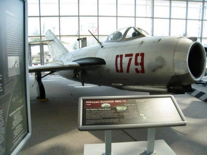 миг21 в музее