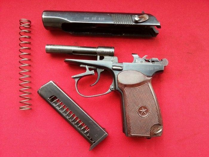 пистолет макарова в разборе