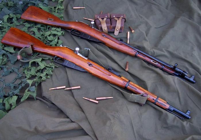 две винтовки