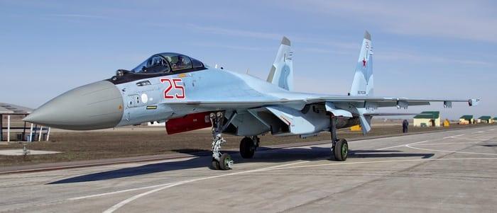большой российский истребитель