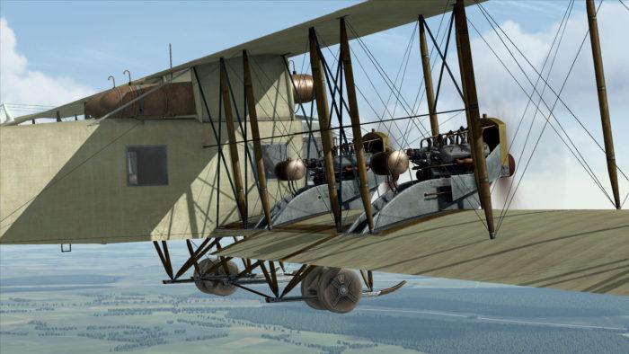 тяжёлый самолет Илья Муромец