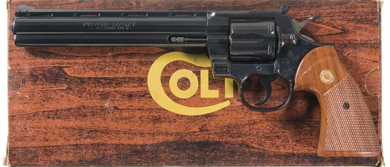 пистолет кольт питон