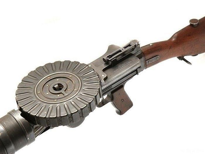 диск пулемета