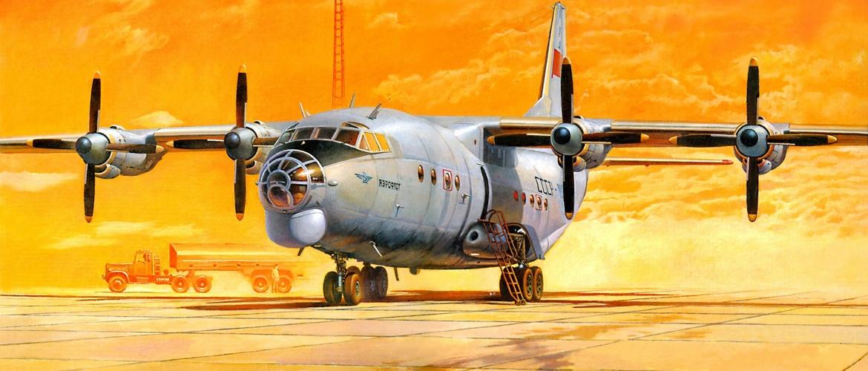 самолет ан 12