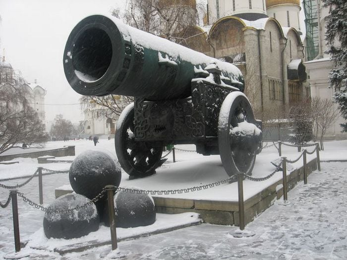 усыпана снегом