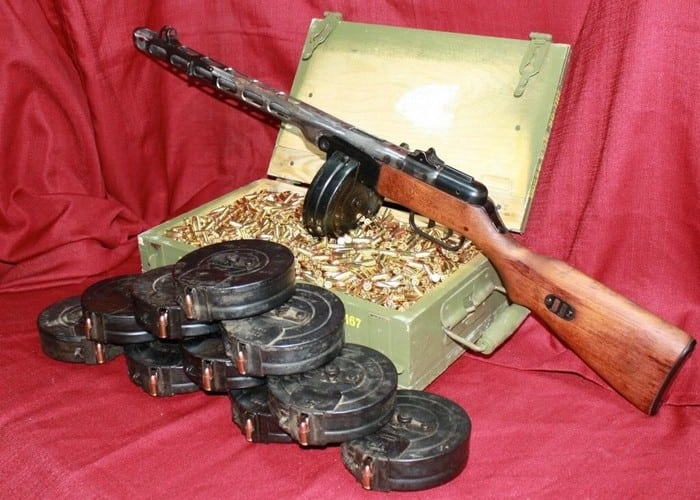 запас боеприпасов для ппш