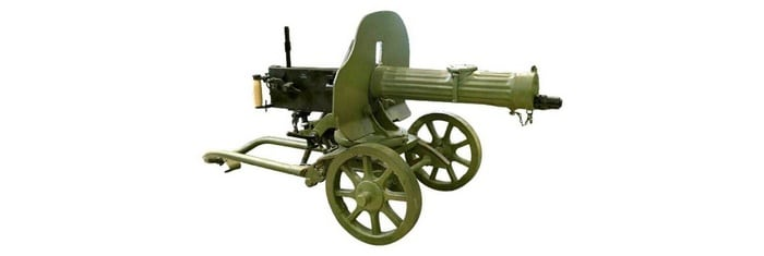 исторический пулемет