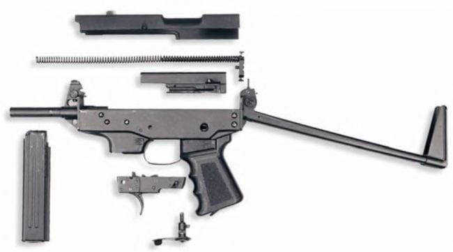 пулемет в разборе 2
