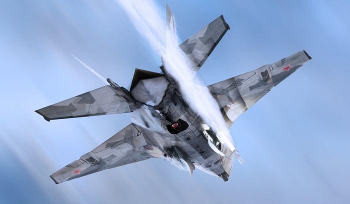 этот самолет может подняться до космоса