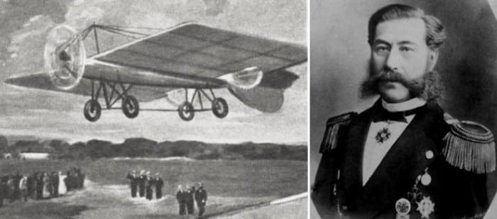 можайский и самолёт