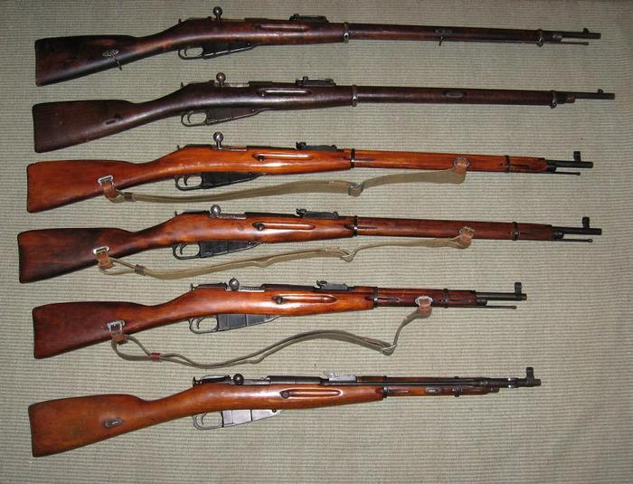 модели винтовок