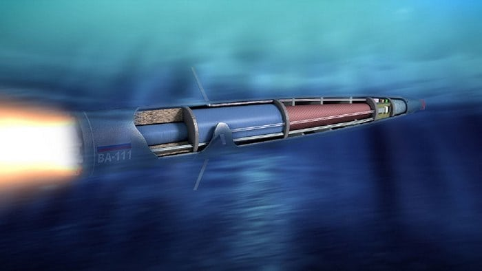 торпеда в действии