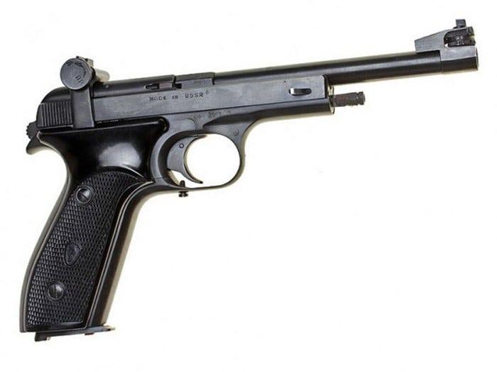 пистолет мц