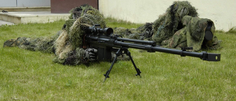 снайперский выхлоп