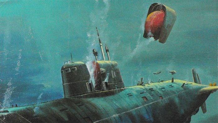 пожар в подводной лодке