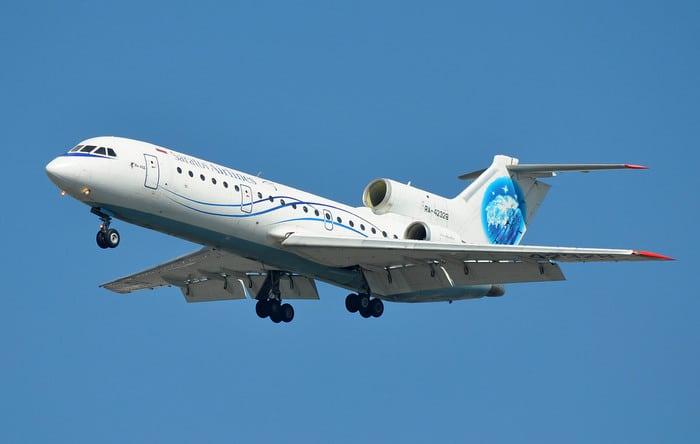 самолёт як42