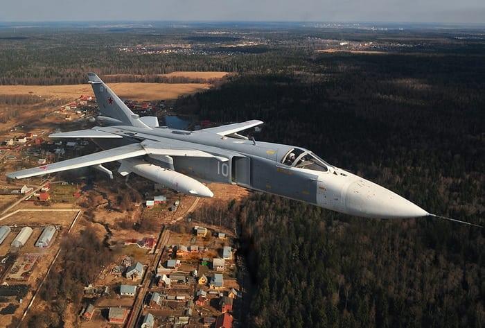 боевой вылет су-24