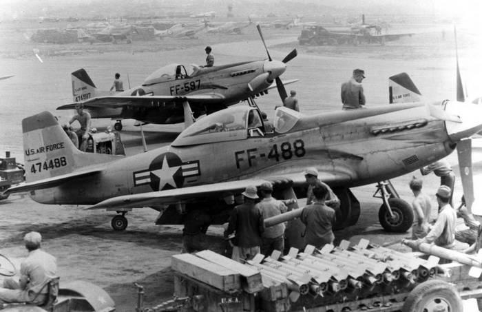 вооружение р-51