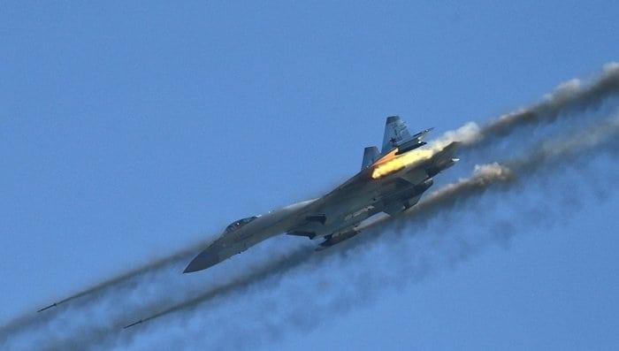 боевой вылет су-27