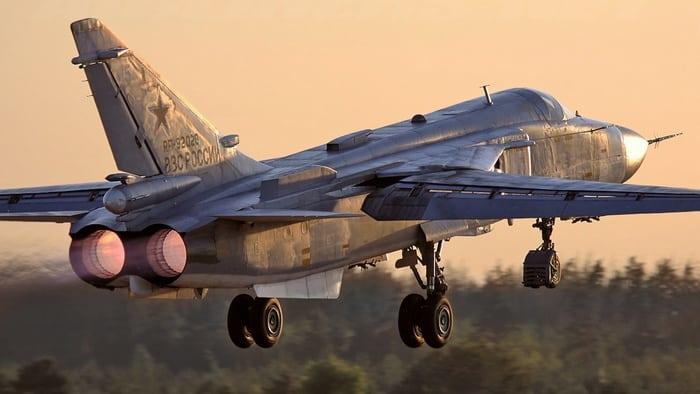 су-24 на взлёт