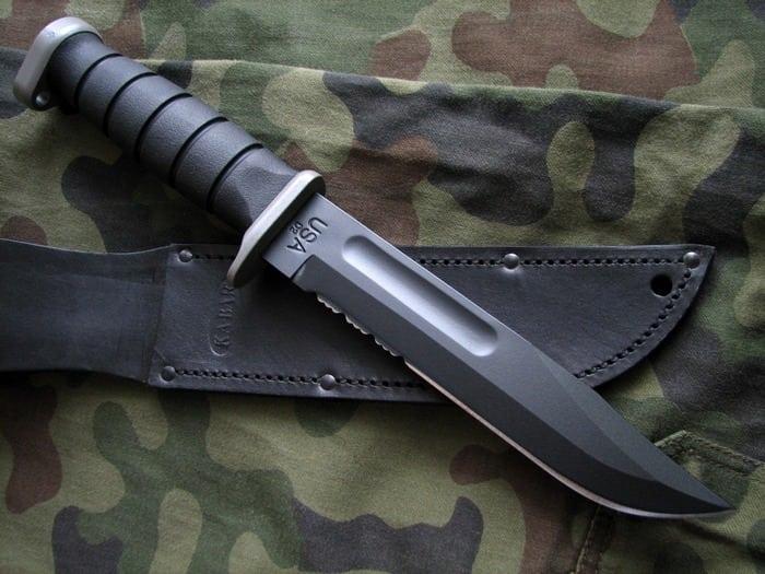 антибликовое покрытие ножа