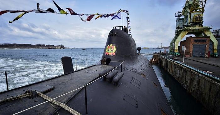 подводный крейсер 971