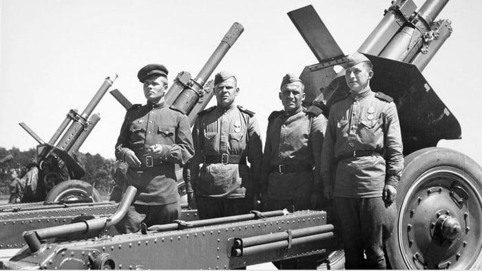 артиллерия и м-30