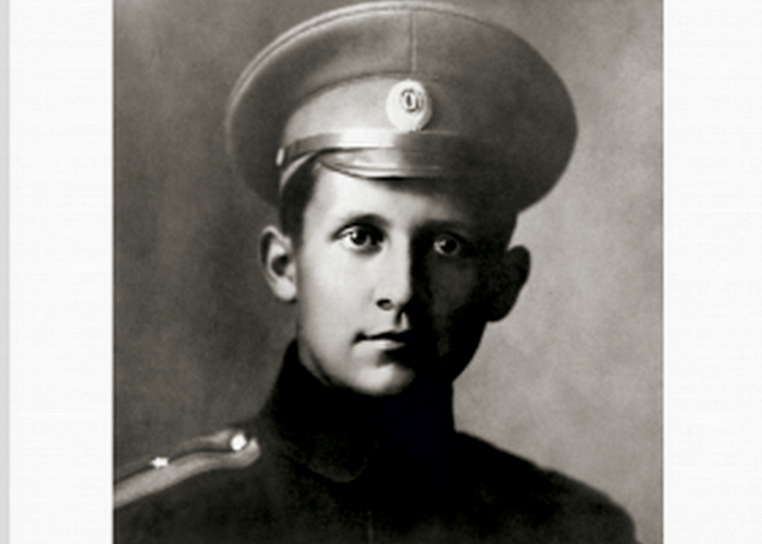 П.О.Сухой на службе в армии