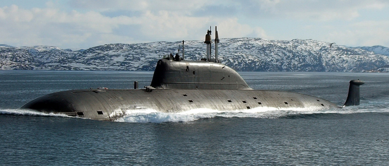 подводная лодка акула-б