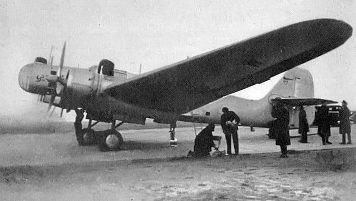 """самолёт ДБ-2 или """"Родина"""",бригады П.О.Сухого"""