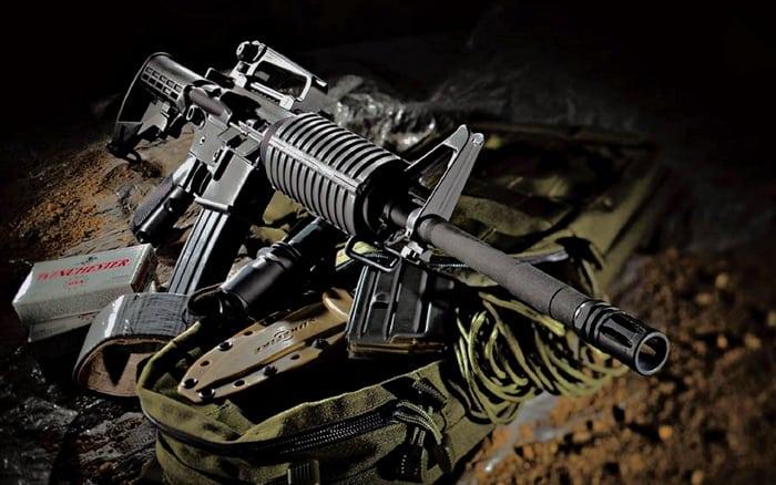 американская винтовка м-16