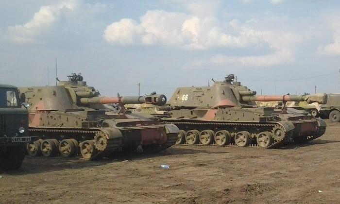 артиллерия сау-2с3