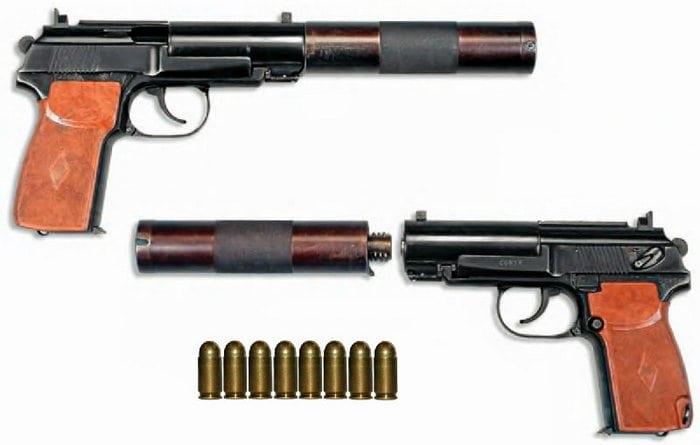 вид пистолета 6пб9