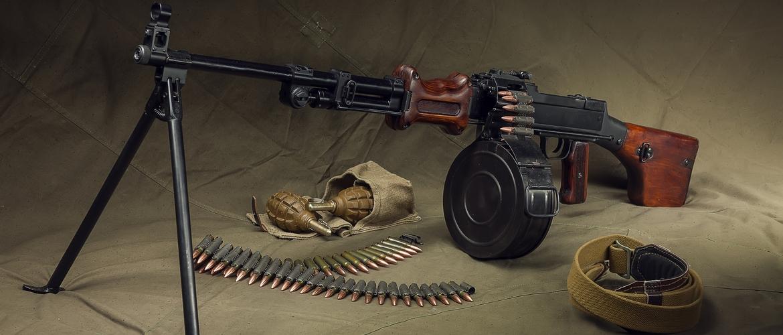 ручной пулемёт дегтярёва
