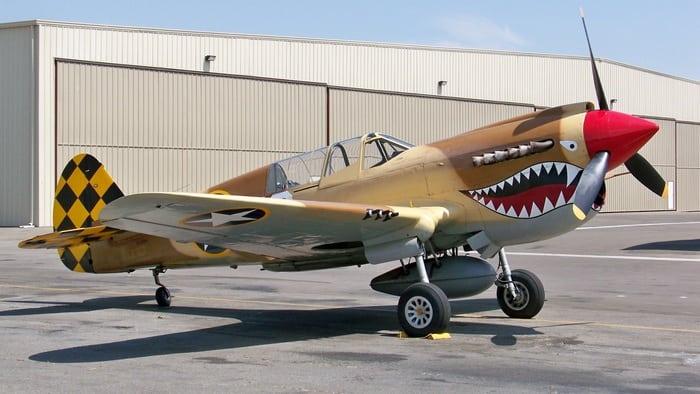 самолёт р-40