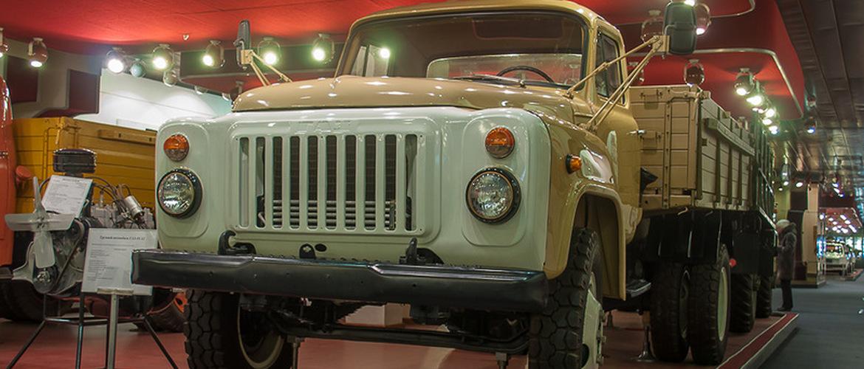 ГАЗ-53 фото на выставке