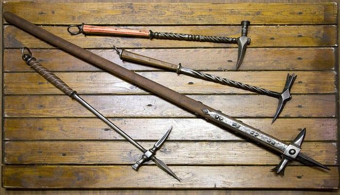 виды боевых молотов