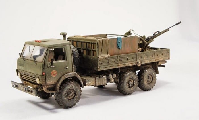 КАМАЗ 5320 военный