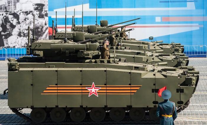 """БМП """"Курганец-25"""" на параде"""
