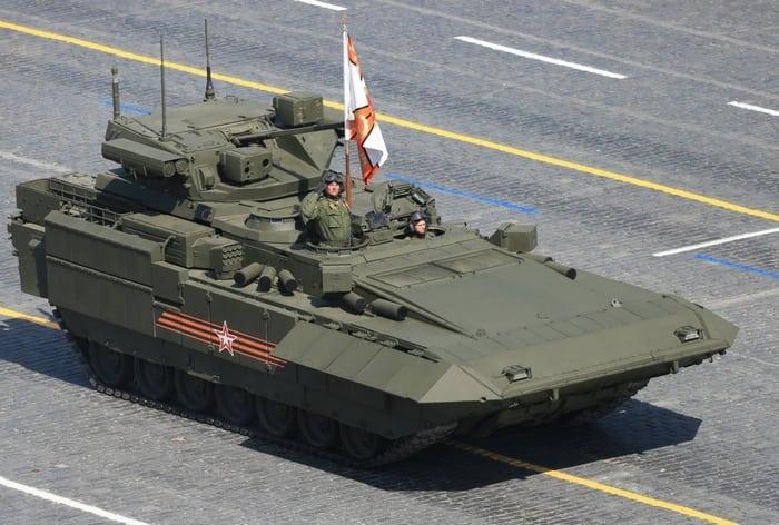 БМП Т-15 не параде
