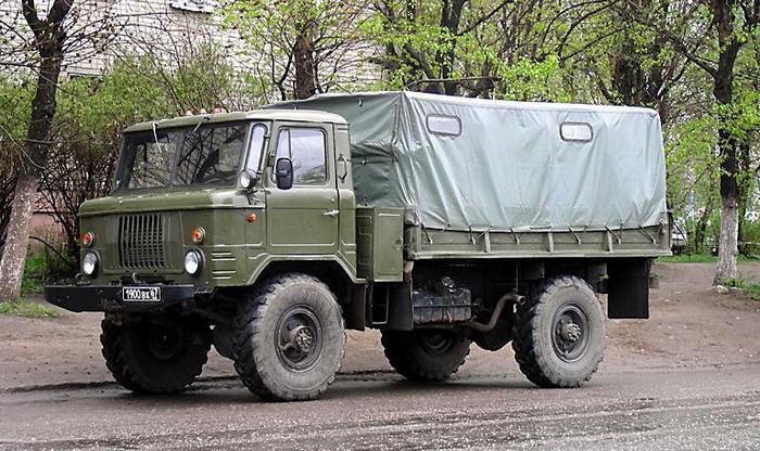 ГАЗ-66 тентованый