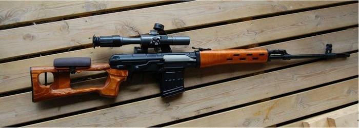 винтовка свд