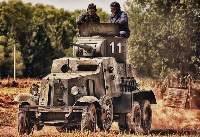 бронеавтомобиль ба-10