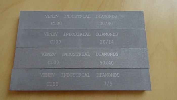 Алмазные бруски для заточки ножей производства веневского завода